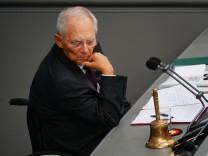 Schäuble Bundestag Wahl