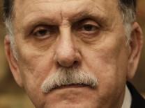 International anerkannter Regierungschef Libyens will zurücktrete