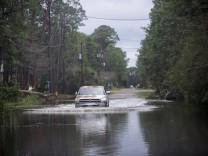 Hurricane Sally impact in Alabama