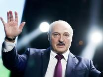 Belarussischer PrâÄ°sident Lukaschenko