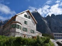 Die Falkenhütte im Karwendel