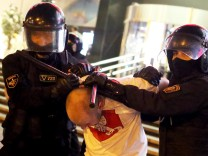 Proteste und Festnahmen in Belarus