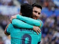 FILE PHOTO: La Liga Santander - Real Sociedad v FC Barcelona