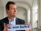 """""""Es reicht ja schon ein Zettel mit den Worten: Wir wissen Bescheid"""", sagt Robert Köhler. """"Das wäre das Signal der Gemeinden: Wir kümmern uns um Prävention. Wir sind für Betroffene ansprechbar.(Foto: Stephan Rumpf)"""