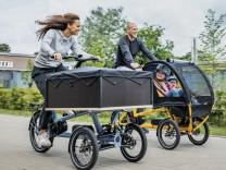 Lastenrad Chike E-Kids im Test: Papa, noch mehr Kurven!