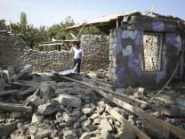 Konflikt zwischen Armenien und Aserbaidschan in Bergkarabach