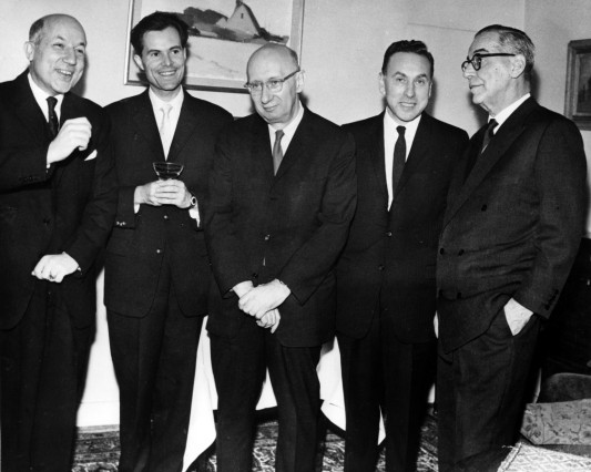 Dec 12 1961 Stockholm Sweden The Nobel Prizes were presented this weekend in Stockholm The pict
