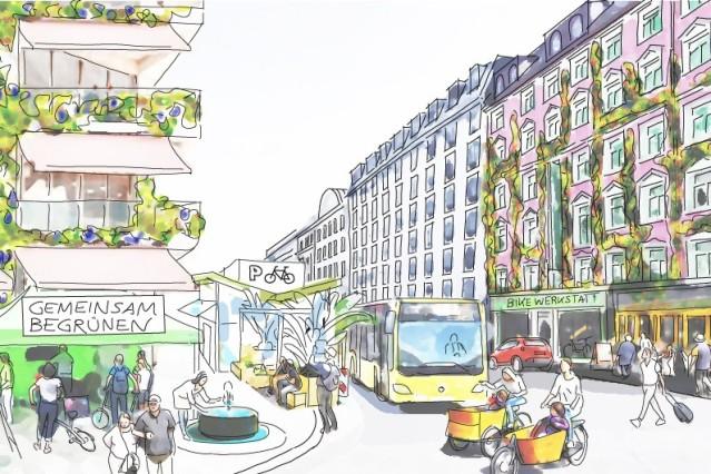 "Forschungsprojekt ""Grüne Stadt der Zukunft"""