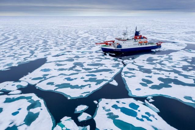 """´Polarstern"""" kehrt von Arktis-Expedition zurück"""