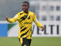 Youssoufa Moukoko (Borussia Dortmund) 18.10.2020, Fussball GER, Saison 2020 2021, U19 Bundesliga West, 3. Spieltag, FC