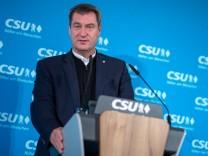 CSU-Vorstandssitzung in Nürnberg