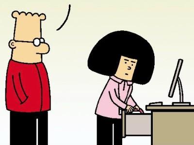 Dilbert, Peanuts & Co.: Die große Zucchini!