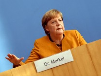 Merkel Speaks Following Meeting Of Government Coronavirus Cabinet