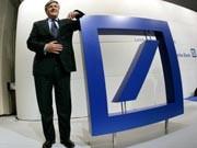 Deutsche-Bank-Chef Josef Ackermann, Foto: AP