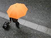 Schirm, Bank, dpa