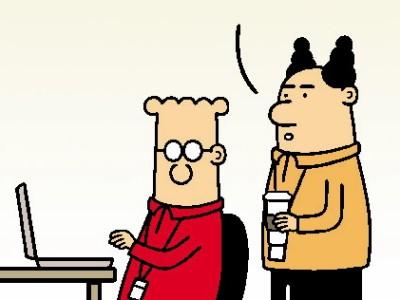Dilbert, Peanuts & Co.: Bloß nicht ablenken lassen
