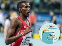 Deutsche Leichtathletik-Hallenmeisterschaften; Leipzig, 22.02.2020 Mohamed Mohumed (LG Olympia Dortmund); Deutsche Leich