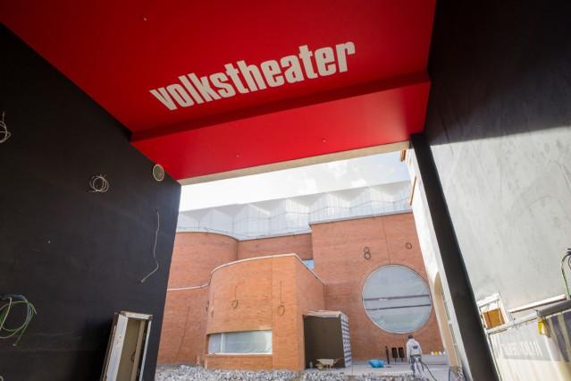 Vorstellung des Volkstheater-Neubaus