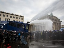 Berlin: Ein paar Tropfen