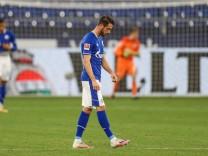 FC Schalke 04 - VfL Wolfsburg 21.11.2020, Fussball, Saison 2020/2021, 1. Bundesliga, 8. Spieltag, FC Schalke 04 - VfL W; Uth