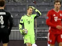 FC Bayern gegen Salzburg: Neuer schleppt wieder schwere Kartons