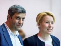 Berlin: Giffey und Saleh werden Berliner SPD-Vorsitzende