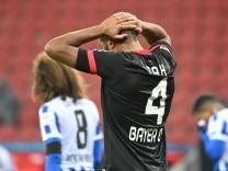 Leverkusen: Platz zwei verpasst