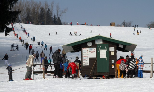 Skilift am Monte Kienader in Bergkirchen, 2012