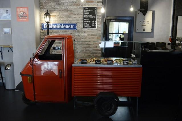 """Lokal """"True Brew"""" in München, 2019"""