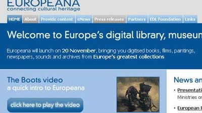 Digitale Bibliothek Europeana