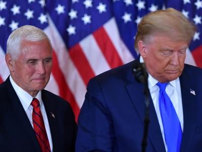 Blog zur US-Wahl: Trump hofft, dass Mike Pence das Wahlergebnis für ihn kippt