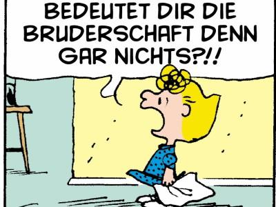 Dilbert, Peanuts & Co.: Bruderschaft
