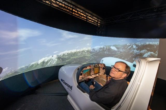 Flugsimulator im Deutschen Museum