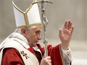 Papst Ratzinger, dpa