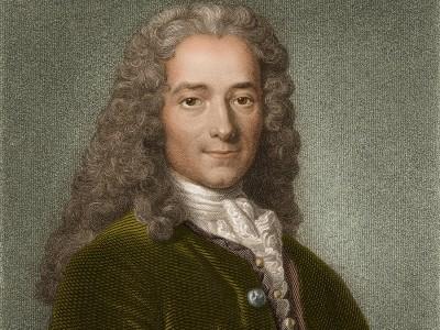 """Voltaires """"Philosophisches Wörterbuch"""": """"Warum malt ihr Gott mit einem langen Bart?"""""""