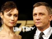 Olga Kurylenko, Daniel Craig, Ein Quantum Trost Premiere Berlin