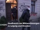 Hunderte Polizisten bei Razzia in Sachsen im Einsatz (Vorschaubild)