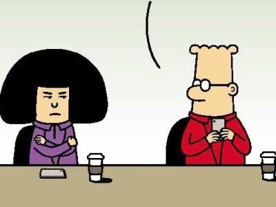 Dilbert, Peanuts und Co.: Negative Aufmerksamkeit