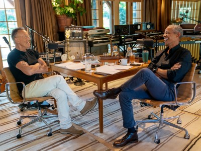 Podcast mit Springsteen und Obama: Theater für alle