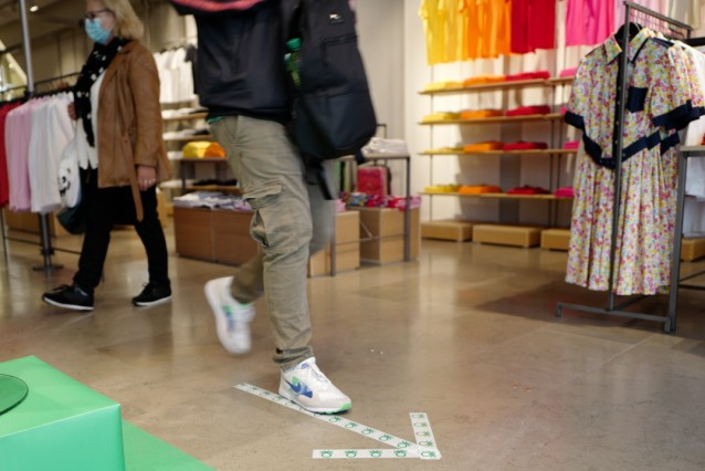 Shoppen in München nach Lockerungsmaßnahmen in der Corona-Krise, 2020