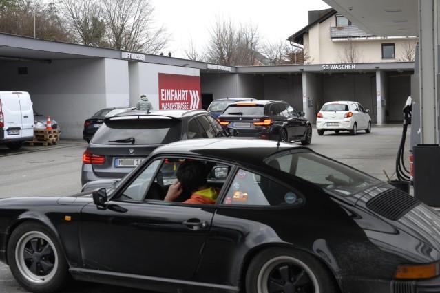 Autowäsche Waschstraße