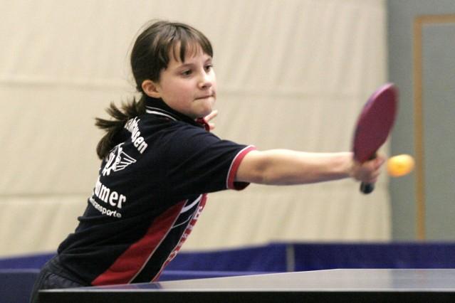 Tischtennis Damen; Sportler
