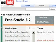 Free Studio, youtube