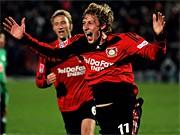 Bayer Leverkusen siegt 2:0 über Vfl Wolfsburg; Getty Images