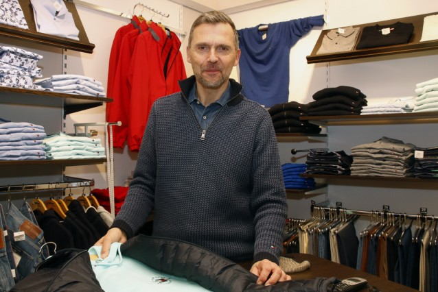 Modehändler Christoph Klöpfer