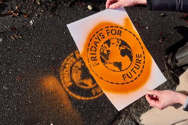 FFF Klimakids Demo in Glonn