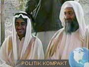 Mohammed bin Laden (l.), Osama bin Laden, AP
