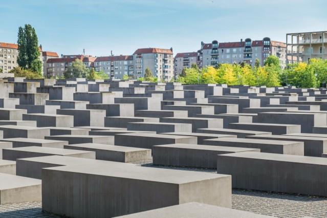 Holocaust-Mahnmal, Mitte, Berlin, Deutschland *** Holocaust Memorial, Mitte, Berlin, Germany