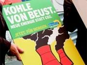 Grünen-Wahlplakat, dpa