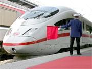 Sicherheitskontrollen an ICE-Zügen, dpa